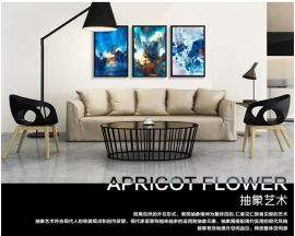 木亚muya名家**群欧式抽象客厅装饰画