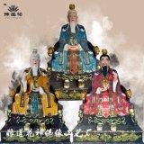 三清神像 玉虚宫十二大弟子神像 十二金仙佛像