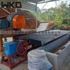 石城生产砂金摇床 水洗铜米摇床技术参数