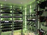 厂家定制供应不锈钢酒柜 恒温酒柜 不锈钢玫瑰金酒柜