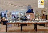 廣州融潤展櫃廠家製作亞克力超市專櫃寶石展示櫃設計