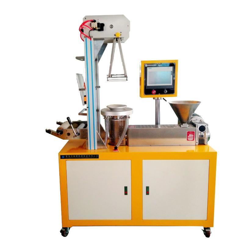全自动带收卷牵引小型吹膜机 塑料吹膜机
