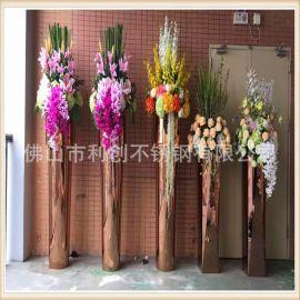 拉丝不锈钢花盆长沙不锈钢花盆简约不锈钢花盆定制