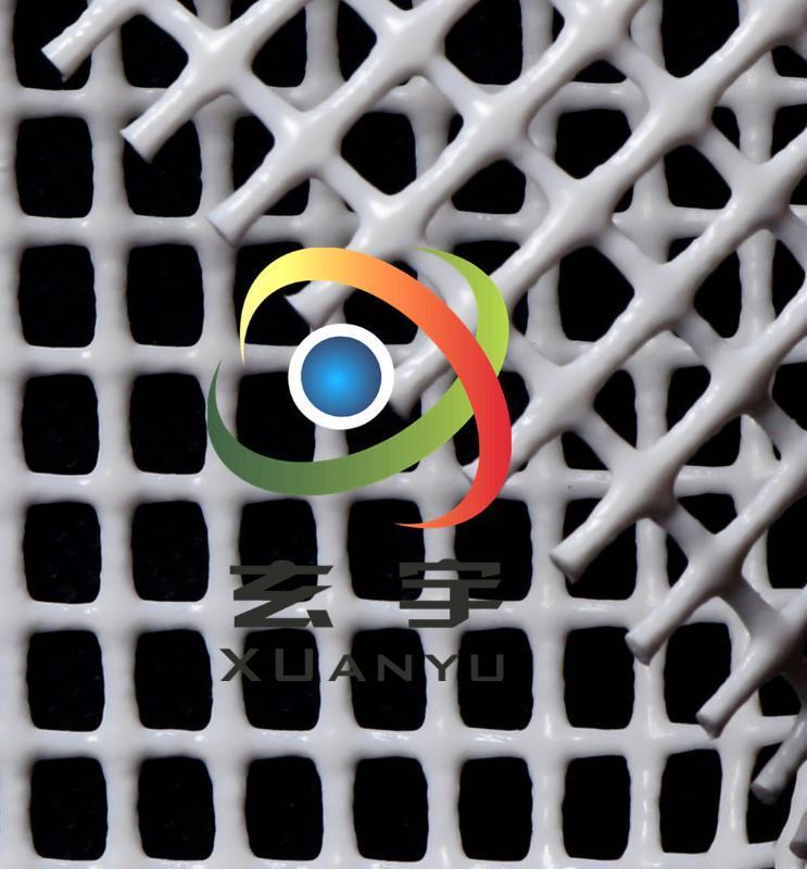 4*4寵物籠大格子PVC塗塑網格布PVC防護網