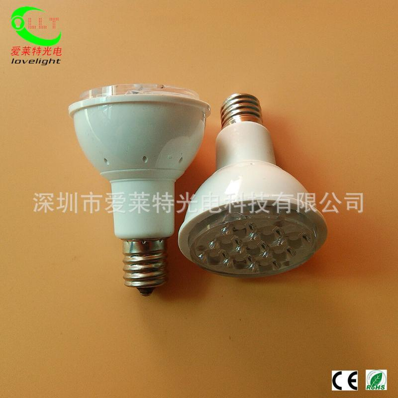 LED灯杯射灯4W E14 E17 贴片LED灯杯 展柜工程照明节能灯 外贸