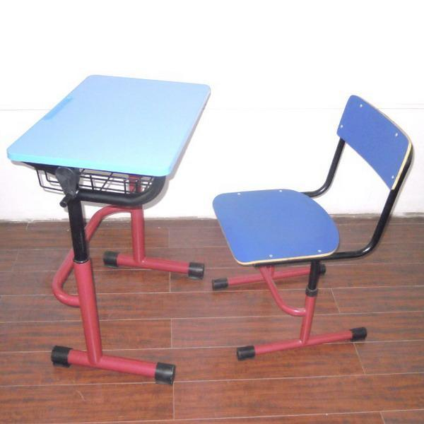 单人升降课桌椅工厂直销