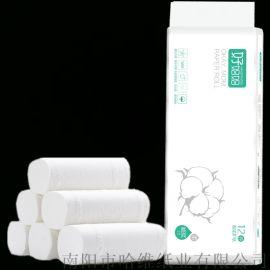 河南厂家供应原木浆卷纸500g妇婴卫生纸家用包邮