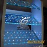 廠家直銷LED發光玻璃 滿天星發光玻璃