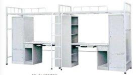 厂家供货》中山大学生公寓床-宿舍组合床-带电脑桌公寓床