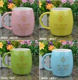 厂家定做陶瓷广告礼品定制杯印字可印logo赠品创意复古色釉杯