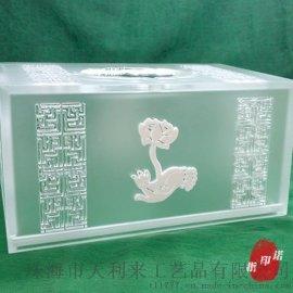 当其无原创中式亚克力纸巾盒中式抽纸盒