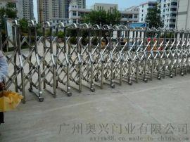 无轨电动伸缩门,广东电动伸缩门价格,电动伸缩门厂家