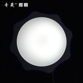 厂家直销 350月光曲 吸顶灯 led吸顶灯 古典欧式客厅卧室灯具灯饰
