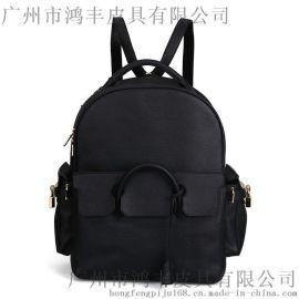 时尚韩版定制女包工厂牛包包代工贴牌生产厂家双肩包