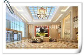 酒店装饰新元素--数字水幕