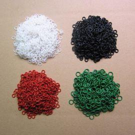 现货销售耐磨耐油耐高温耐溶剂硅橡胶氟胶O型密封防水圈