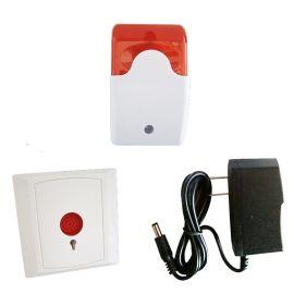 无障碍卫生间求助报 器 残疾人厕所紧急报 装置 紧急呼叫系统价格