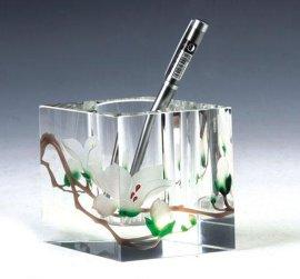水晶笔筒(HJ-B088)
