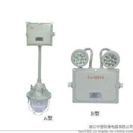 DCJ52隔爆型防爆应急灯,双头防爆应急灯