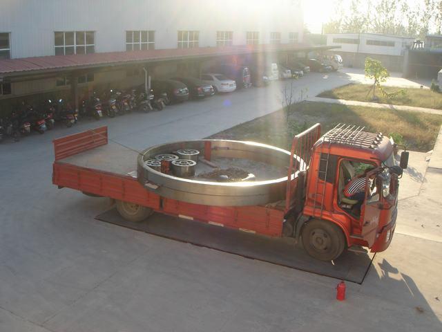 3.0x20米滾筒烘乾機輪帶(滾圈)