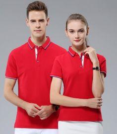 T恤定制短袖工衣广告文化POLO衫订做男女工作班服装衣服印字LOGO