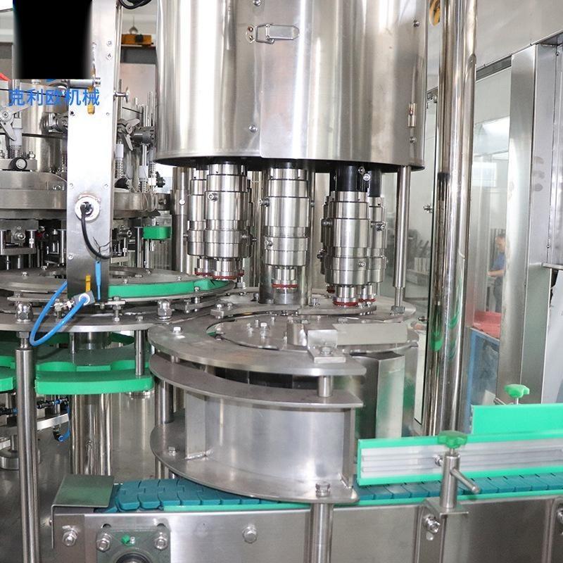 全自动三合一灌装碳酸饮料生产线厂家