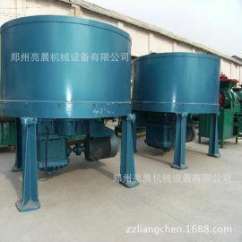 立式平口轮碾搅拌机多功能加厚耐磨轮碾机混凝土搅拌设备