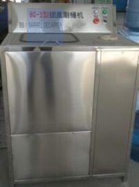 厂家直销BS-1桶装水拔盖刷桶机 纯净水设备