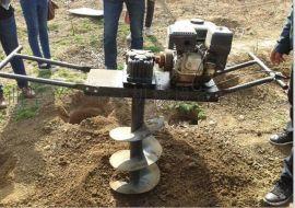 大马力挖坑机视频【植树挖坑机】便携式挖坑机价格yyz