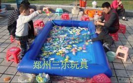 儿童充气水池多少钱?小型钓鱼池什么价格?
