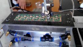 高频头探针自动焊接 自动点焊 精密点焊 自动焊锡机 视讯卡天线自动焊接 东莞自动焊锡机厂 东莞自动点焊机厂家