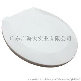 厂家批发 通用坐便器盖板 原料加厚缓降 卫生间马桶盖板配件
