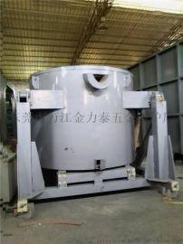 铝锭倾倒式熔化炉 600公斤倾翻式熔铝炉