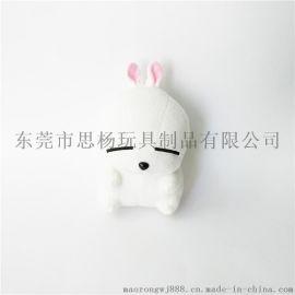 可爱动物毛绒玩具兔子公仔来图打样设计logo OEM加工定制厂家生产