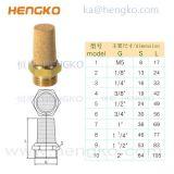 恒歌锥形HBSL-B型消声器 铜