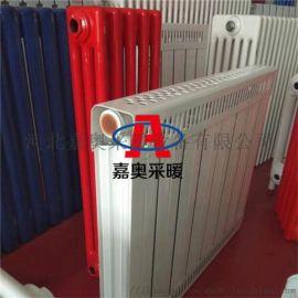 工程家用銅鋁復合暖氣片8080立式純紫銅管散熱器