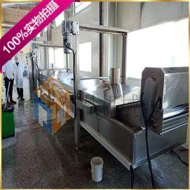 薄脆油炸机连续型生产设备 炸薄脆油炸生产线