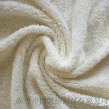 廠家提供舒棉絨 家居玩具服裝面料 經編針織絨布面料