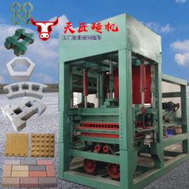 多功能透水免烧砖机 空心六棱护坡砖机