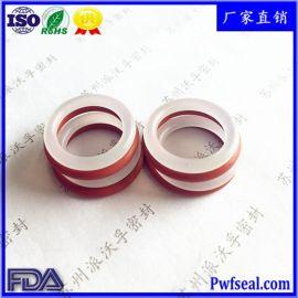 现货供应硅胶O型圈食品级硅橡胶O形圈 卫生级耐高温防水硅胶圈
