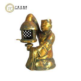 青铜器仿古摆件 长信宫灯  铜工艺品 礼品  文玩古玩 定做直销