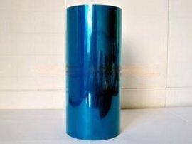 新友维厂家直销蓝色高粘透明硅胶保护膜 PET单层防静电保护膜 钢板铝材用保护膜 蓝色高粘保护膜