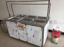 专业生产小型豆腐机一机多用腐竹油皮机的价格免费提供技术