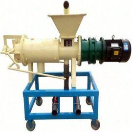 四川小型鸡粪烘干脱水机/粪便脱水处理机/牛粪固液分离脱水机厂家