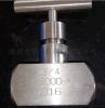 厂家直销不锈钢针阀.超高压针型阀.气体高压316针阀 ND6000