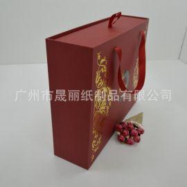 精美婚庆伴手礼包装盒 抽屉式手提烫金盒纸 厂家可定制高档礼盒