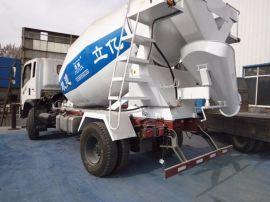 混凝土罐車生產廠家,億立5m3混凝土罐車,攪拌罐銷售