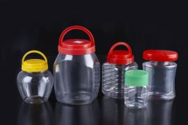 PET廣口瓶 PET透明塑料罐 食品罐 奶粉罐