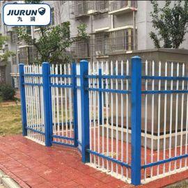 锌钢小区栅栏 庭院护栏 喷塑锌钢栅栏 组装式围墙护栏