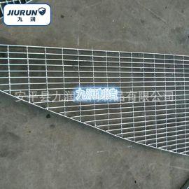 异型钢格板 工作平台踏板网 热镀锌格栅板